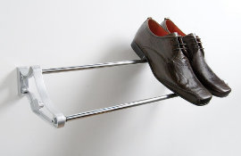 A Telescopic Shoe Rack that can be rear or side fixed.
