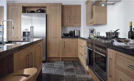 This in-frame oak kitchen with no-nonsense up-dated feel -  guaranteed to suit if looking for a modern classic style.