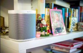 How about a SONOS Player 1 in the playroom or nursery? Great for streaming your children's (or grand children's) favourite nursery rhymes or lullabies to help them go to sleep!