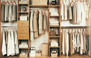 Wardrobe interiors with a place for everything ...and everything in it's place.  Smart interiors designed to make changes as and when your storage needs change!